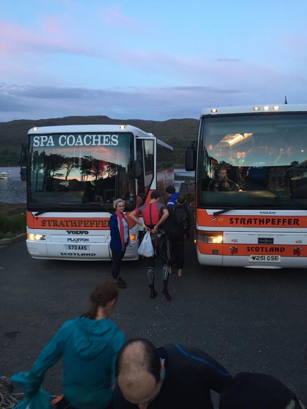 Champions League buses